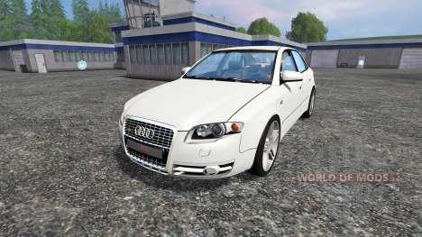 Audi A4 (B7) Quattro 3.0 TDI for Farming Simulator 2015