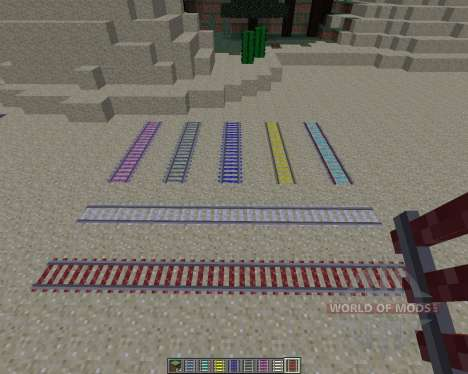 Expanded Rails [1.8] for Minecraft