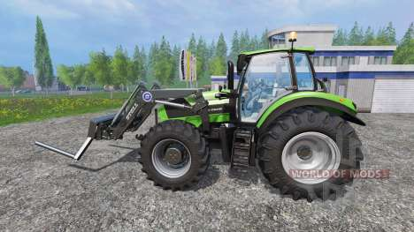 Deutz-Fahr Agrotron 7250 FL v3.0 for Farming Simulator 2015
