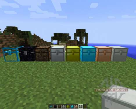 Iron Chests [1.7.2] for Minecraft