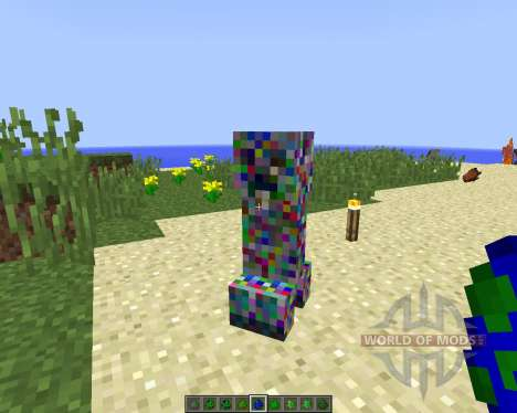 Elemental Creepers 2 [1.8] for Minecraft