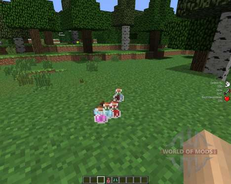 StatusEffectHUD [1.6.4] for Minecraft