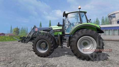 Deutz-Fahr Agrotron 7250 TTV v2.0 frontloader for Farming Simulator 2015