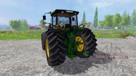 John Deere 8520 v2.0 for Farming Simulator 2015