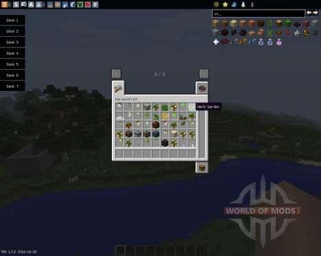 HarvestCraft [1.7.2] for Minecraft