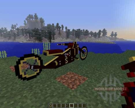 Steam Bikes [1.5.2] for Minecraft