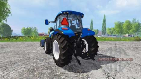 New Holland T5.115 FrontLoader for Farming Simulator 2015