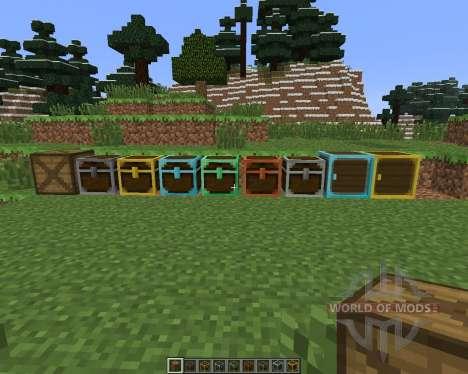 Better Storage [1.6.4] for Minecraft