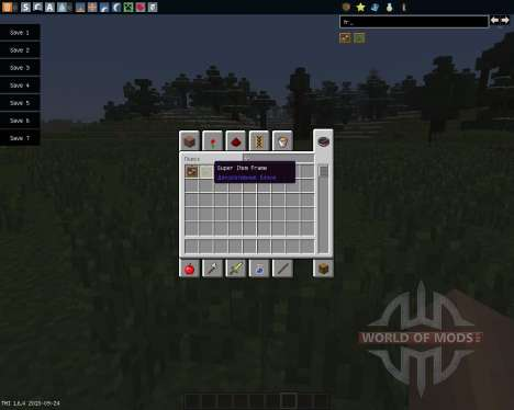 Super Crafting Frame [1.6.4] for Minecraft