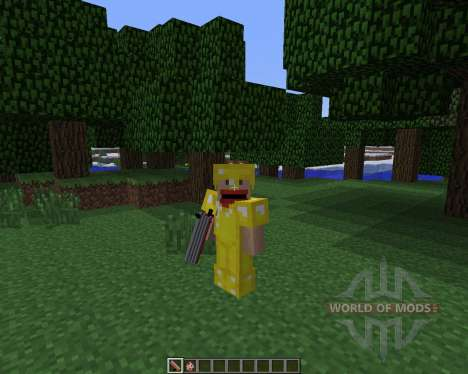 Explosive Chickens [1.6.4] for Minecraft