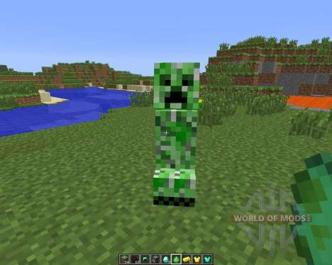 Tameable (Pet) Creepers [1.6.4] for Minecraft