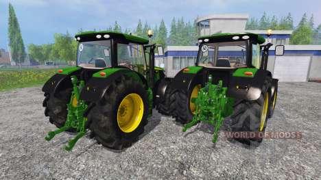 John Deere 6170R and 6210R v3.0 for Farming Simulator 2015