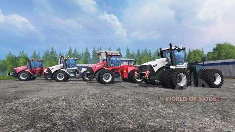 Case IH Steiger 620 [pack] for Farming Simulator 2015