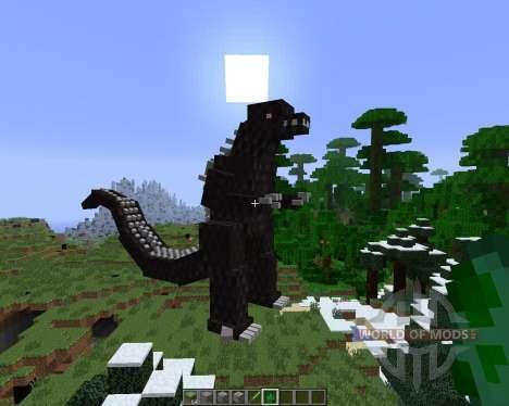 Godzilla [1.6.4] for Minecraft