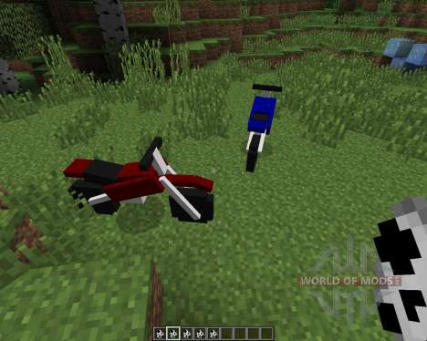 The Dirtbike [1.7.2] for Minecraft