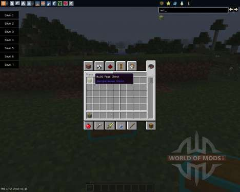 Multi Page Chest [1.7.2] for Minecraft