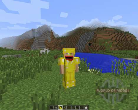 3D Gun [1.7.2] for Minecraft