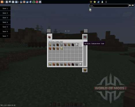 Vertical Slabs [1.7.2] for Minecraft