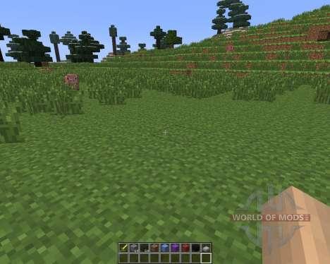 Dual Hotbars [1.6.4] for Minecraft