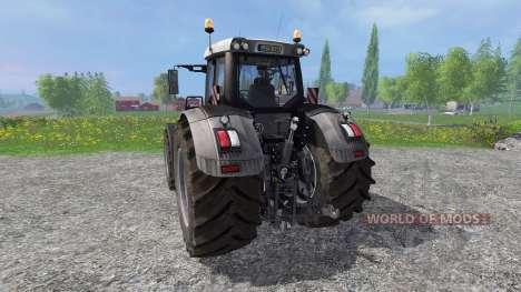 Fendt 936 Vario Black Full v8.0 for Farming Simulator 2015