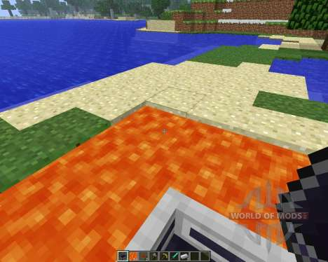 LavaBoat [1.5.2] for Minecraft