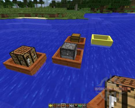 BoatCraft [1.7.2] for Minecraft
