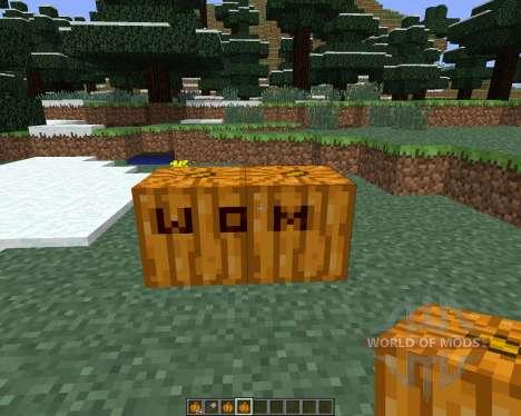 Pumpkin Carvier [1.6.4] for Minecraft