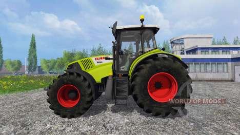 CLAAS Axion 850 v2.0 [washable] for Farming Simulator 2015