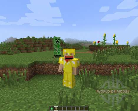 Tameable (Pet) Creepers [1.7.2] for Minecraft