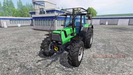 Deutz-Fahr AgroStar 6.61 Forestry for Farming Simulator 2015