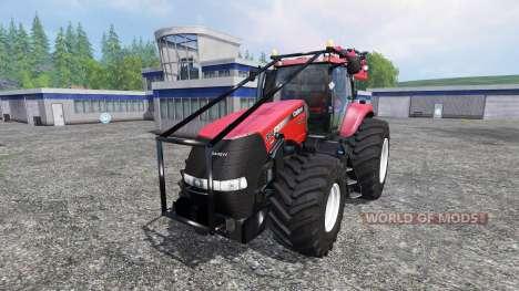 Case IH Magnum CVX 380 FL Forest v3.2 for Farming Simulator 2015