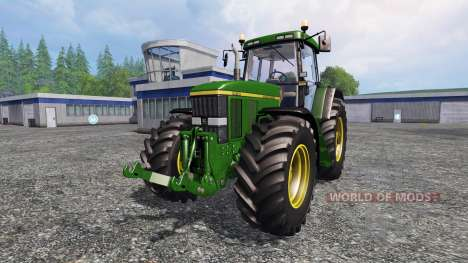 John Deere 7810 v2.0 [washable] for Farming Simulator 2015