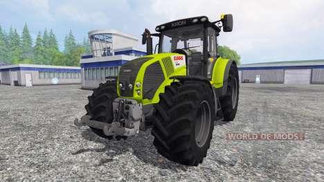 CLAAS Axion 850 v2.0 for Farming Simulator 2015