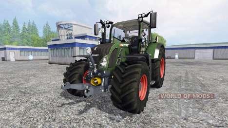 Fendt 718 Vario v4.0 for Farming Simulator 2015
