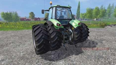 Deutz-Fahr Agrotron 7250 v1.1 for Farming Simulator 2015