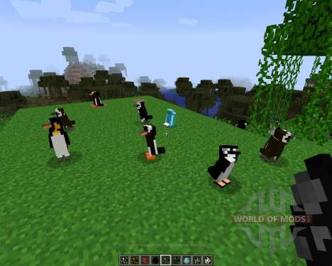 Rancraft Penguins [1.7.2] for Minecraft