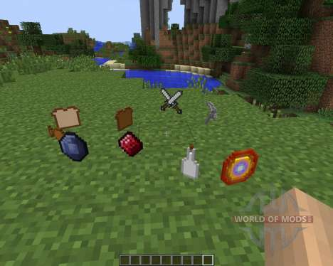 Gods Sacred Items [1.7.2] for Minecraft