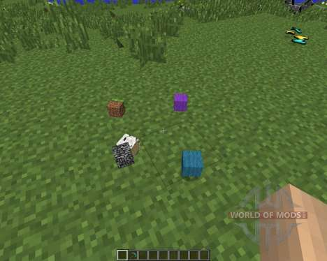 Item Drop Physics [1.7.2] for Minecraft