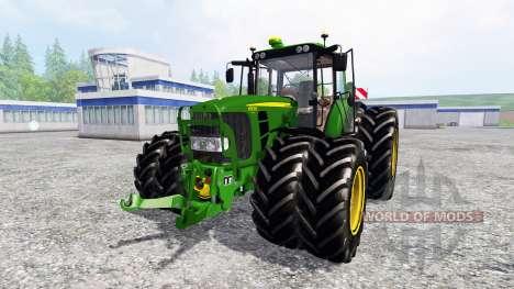 John Deere 6930 Premium [washable] for Farming Simulator 2015