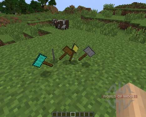 Hammers [1.6.2] for Minecraft