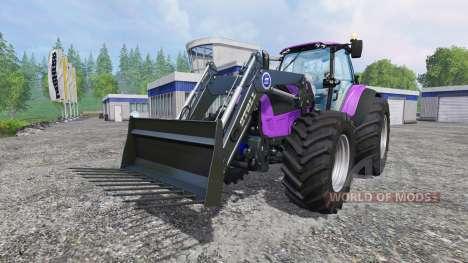 Deutz-Fahr Agrotron 7250 Forest Queen v2.0 purpl for Farming Simulator 2015