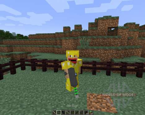 Weapons [1.7.2] for Minecraft