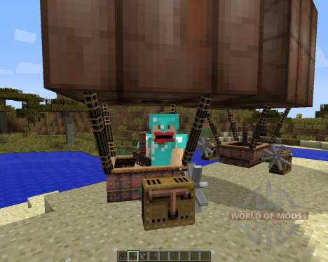 SteamBoat [1.7.2] for Minecraft