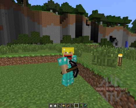 Potato Gun [1.6.4] for Minecraft