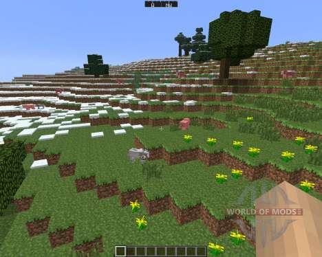 DirectionHUD [1.6.4] for Minecraft