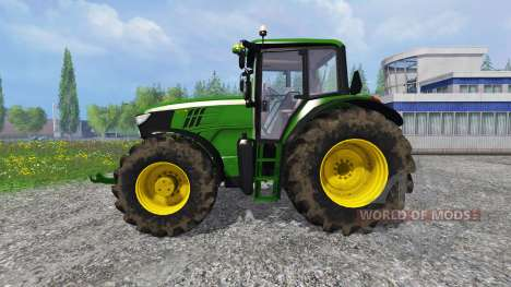 John Deere 6170M FL for Farming Simulator 2015