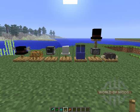 Hat Stand [1.5.2] for Minecraft