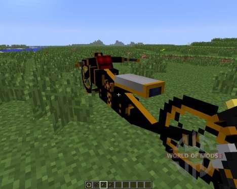 Steam Bikes [1.6.4] for Minecraft