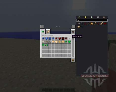 Armour Expansion for Minecraft