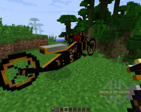 Steam Bikes [1.7.2] for Minecraft